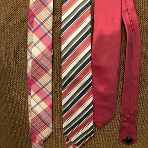 Pink Tie Set